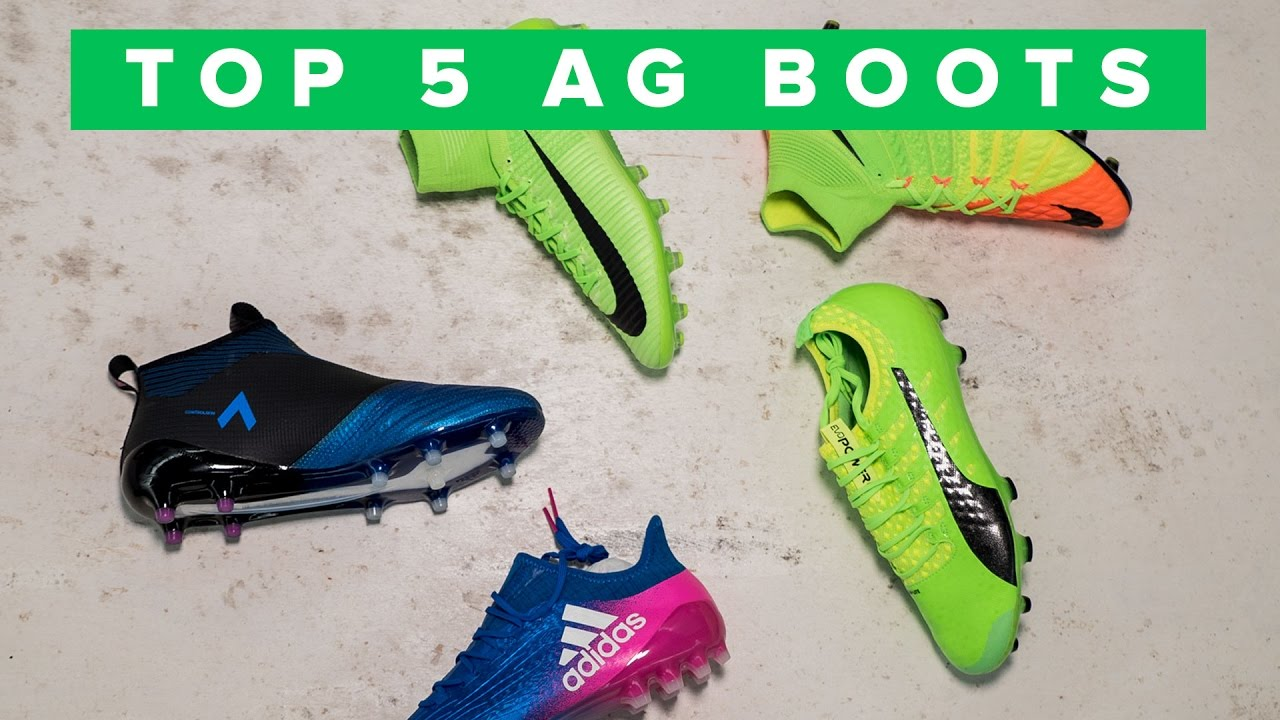 758d125d1 TOP 5 AG BOOTS | Why not to use FG boots on artifical grass - YouTube
