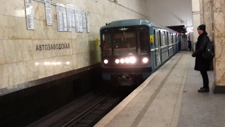 Станция Автозаводская: на поезд посадки нет