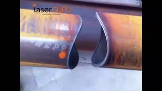 видео Станок для фасонной резки труб