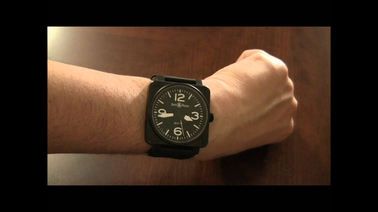 Bell And Ross Br01 Or Br03