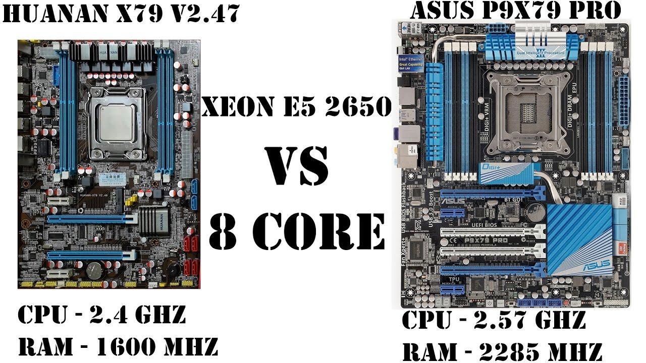 Самый дешевый 8 ядерный процессор Xeon на сокет 2011v1. Китайская материнка против разгонной в играх