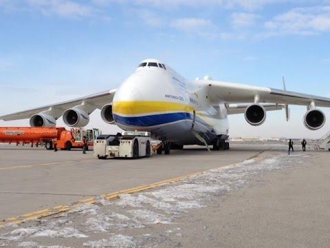 Antonov An- 225 Takeoff from Pearson