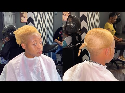 Extended ponytail on short hair
