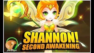 SUMMONERS WAR : SHANNON the Wind Pixie - Second Awakening Spotlight!