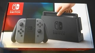 Nintendo Switch Console with Gray Joy-Con :UnBoxing