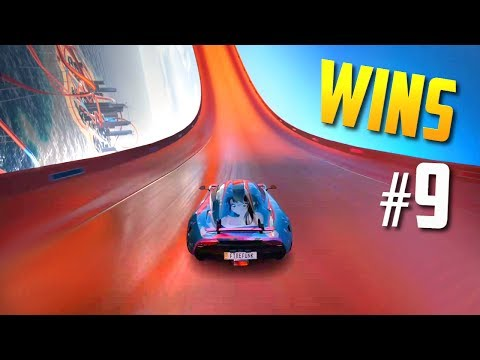 Racing Games WINS Compilation #9 (Accidental Wins, Drifts, Stunts & Close Calls)