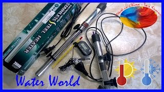 Water World #52 / Тестируем обогреватели и термометры для аквариума