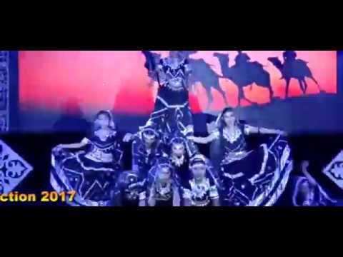 Rajasthani folk dance performance of Annual Function 2017 at Gagan Public School, G-Noida (west)