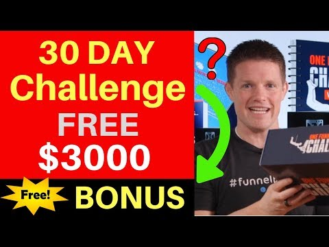One Funnel Away Challenge (UNBOXING) - ClickFunnels 30 Day Challenge Review by Russell Brunson