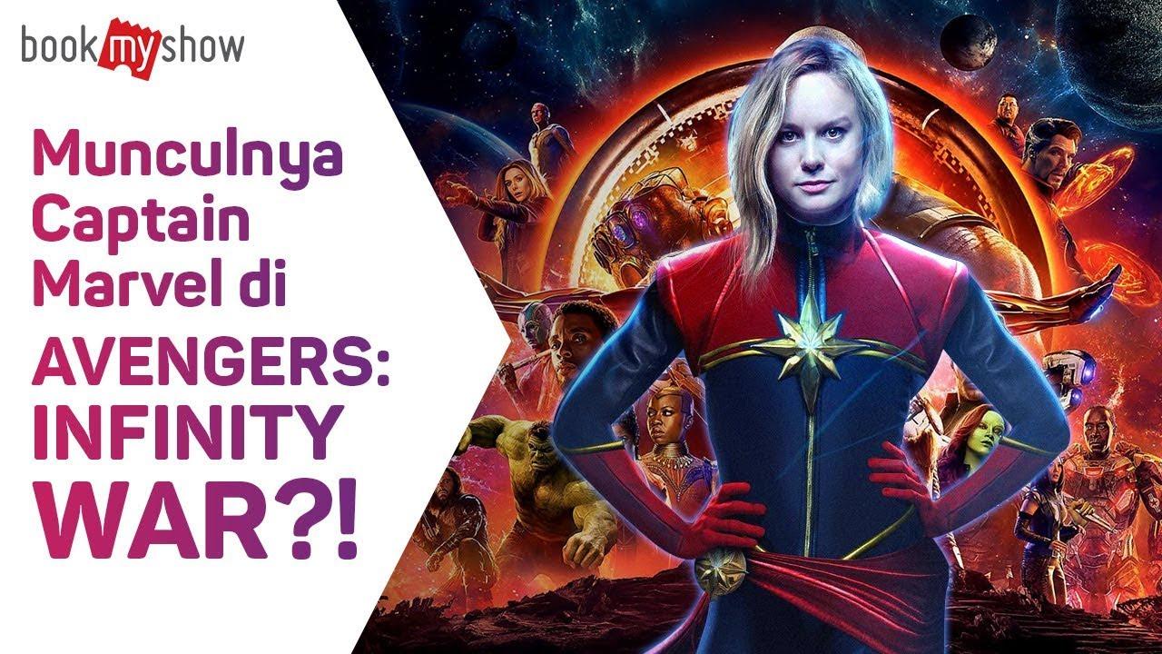 munculnya captain marvel di avengers: infinity war? - bookmyshow