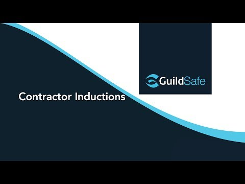 GuildSafe  - Contractor Inductions (Mobile)