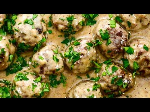 Keto Recipe Swedish Meatballs A