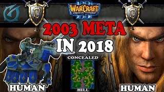 Grubby | Warcraft 3 TFT | 1.30 | HU v HU on Concealed Hill - 2003 Meta in 2018