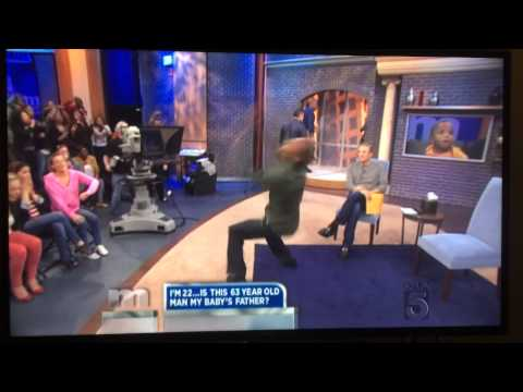 Maury you are NOT the Father Best Celebration with Backflip