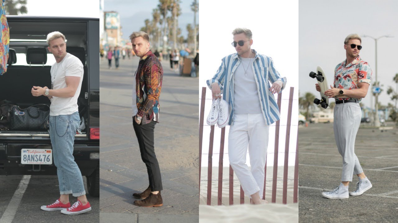 SUMMER LOOKBOOK 2018 | Mens Fashion Outfit Inspiration | Carl Cunard & Alex Costa 8