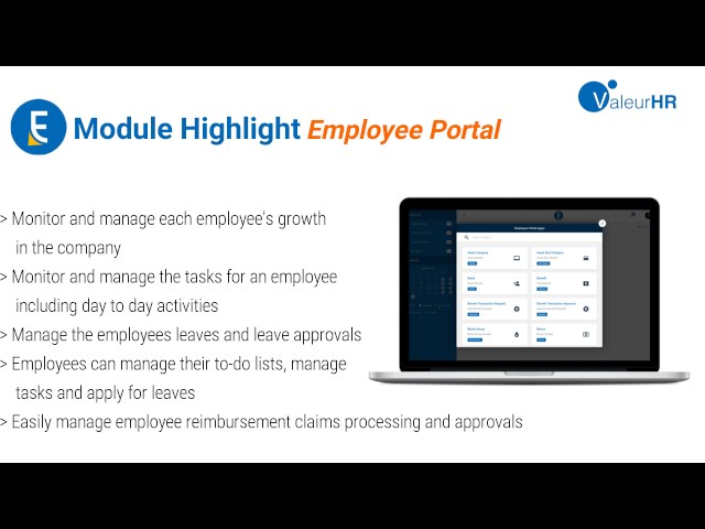 ValeurHR Execution ( vE ) - Employee Portal