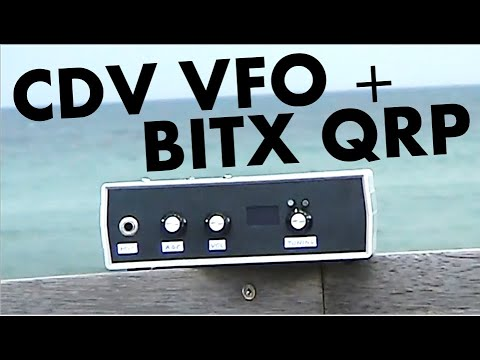 Adding a CDV DDS VFO to the non-DDS Bitx40 transceiver
