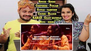 Indian Reaction On Coke Studio Season 12  Maahi Diyaan Jhokaan  Barkat Jamal Fakir Troupe