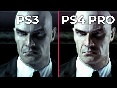 Hitman Absolution Original On Ps3 2012 Vs Remaster On Ps4 Pro