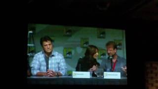 Comic Con 2010 - Castle Panel 1 of 7