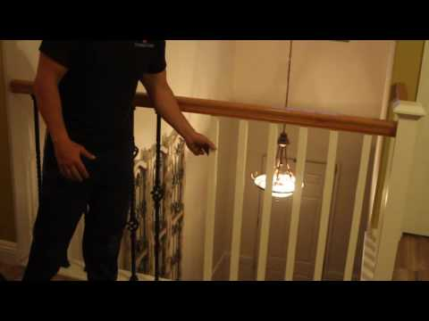 Replace stair rails