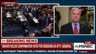Tim Kaine: Robert Byrd Was Not A Racist, But Attorney General Jeff Sessions Is