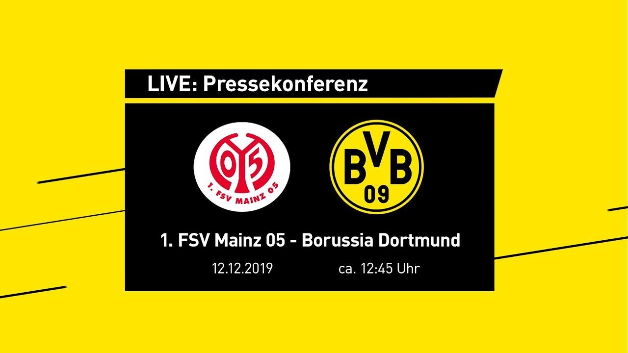 LIVE: Pressekonferenz mit Lucien Favre & Michael Zorc | 1. FSV Mainz 05 - BVB