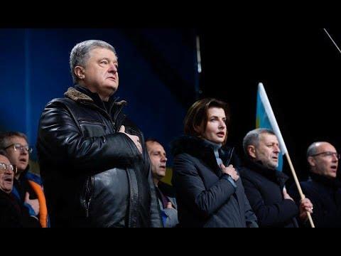 in time Ukraine: Порошенко на мітингу закидали яйцями, назвали еб...ом. А ще Петро Олексійович хотів вкрасти телефон.