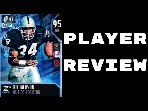 (QB) Out of Position BO Jackson | Player Review | Madden 18 Ultimate Team Gameplay