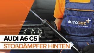 Montage AUDI A6 Avant (4B5, C5) Bremsklötze: kostenloses Video