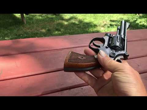 1947 Smith & Wesson 22 LR CTG combat masterpiece