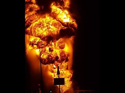 Bahrain hamad town fire (বাহরাইন)