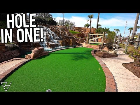 I Needed That Mini Golf Hole In One So Much!