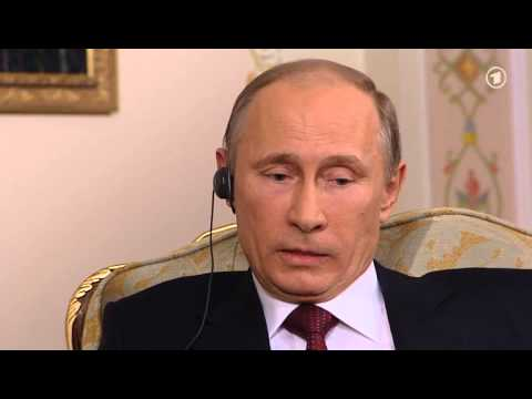 Wladimir Putin Interview 2013 - 35min