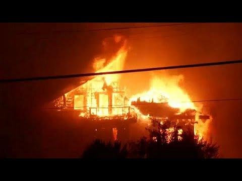 ABD'de orman yangını: 200 bin kişiye tahliye emri
