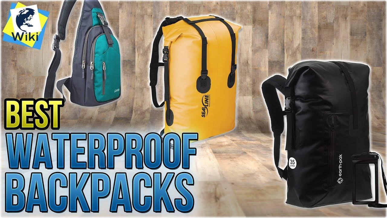 eb965d86c9 10 Best Waterproof Backpacks 2018 - YouTube