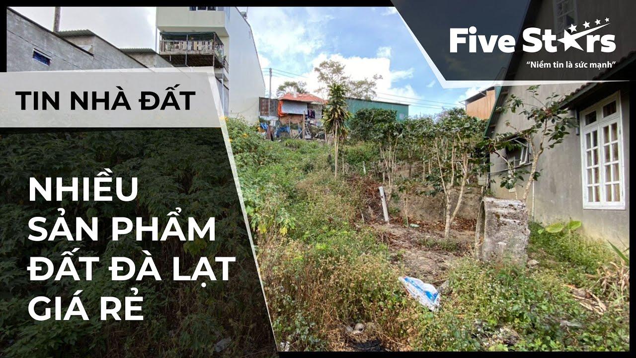 Nhà đất Đà Lạt 07/01/2020: Nhiều sản phẩm đất Đà Lạt giá rẻ