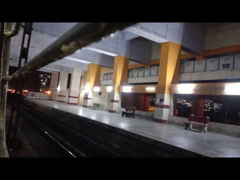 Night Travel Chennai - In local Electric Train