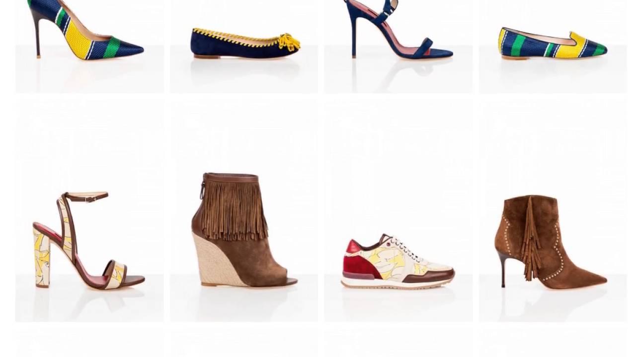 098c7ff3 Catálogo zapatos de mujer Carolina Herrera - YouTube