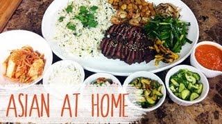Food Truck Food Recipe : Korean Beef Short Rib Burrito Bowl : Korean Bbq Taco : Asian At Home