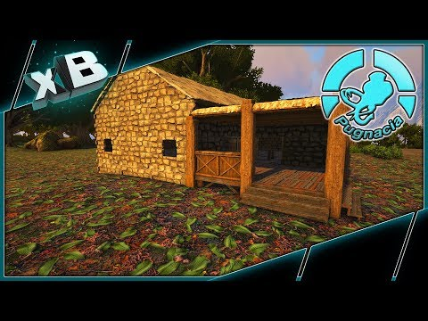 NEW BASE PLACE & STARTER SHACK! :: MODDED ARK: PUGNACIA :: Ep 4