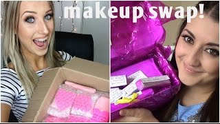 My First Makeup Swap With DazzleDust08!! ♡ Thumbnail