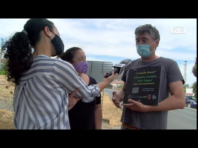 Entrevista avanzando en el proyecto Libera de Basuraleza Cañada Boyal 3.0 Alburquerque
