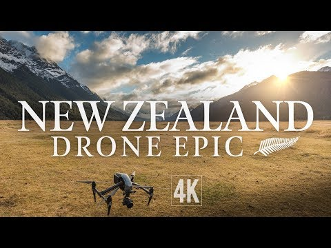 New Zealand 25 Minute Drone Epic (4K)
