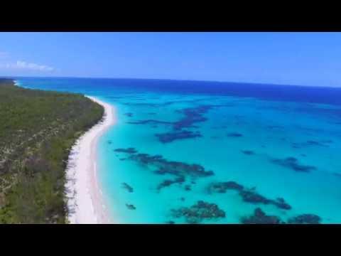 DJI Phantom 3 - Lighthouse Beach, Eleuthera, Bahamas - Aerial Tour