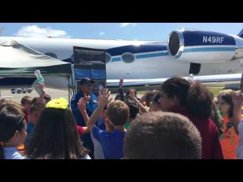 NOAA Hurricane Hunter Airplanes Soar Through Collier County
