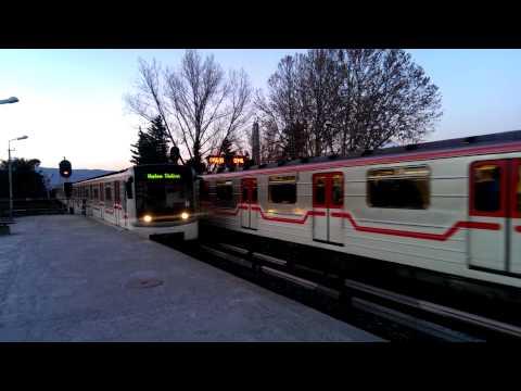 Metro in Tbilisi Gotsiridze station / Метро в Тбилиси станция Гоциридзе