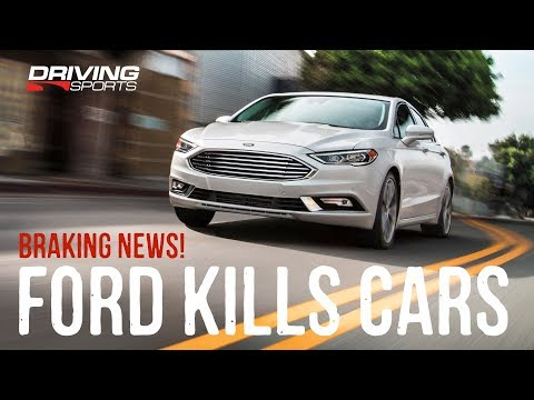 Ford Cuts Cars in North America - Braking News Live!