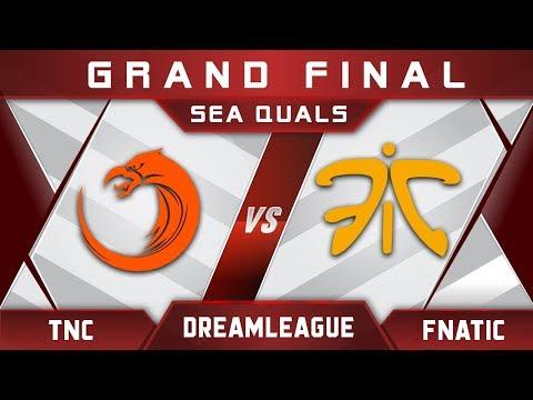 Fnatic vs TNC Grand Final DreamLeague Major 2017 SEA Highlights Dota 2 thumbnail