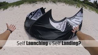 Kiteboarding How To: Self Launch and Self Land?